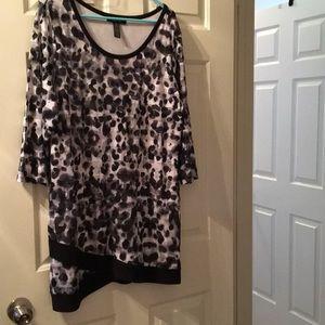 Black/White Tunic/Dress